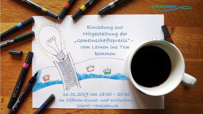 """Einladung zur Mitgestaltung der """"Gemeinschaftspraxis"""""""