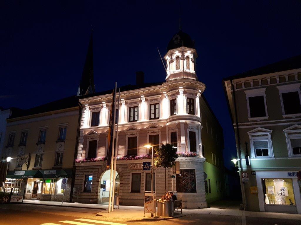 Ensemblebeleuchtung am Stadtplatz Schwanenstadt