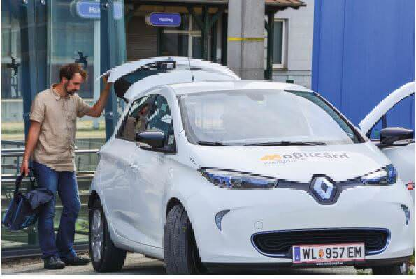 Modellentwicklung E-Carsharing Vöckla-Ager